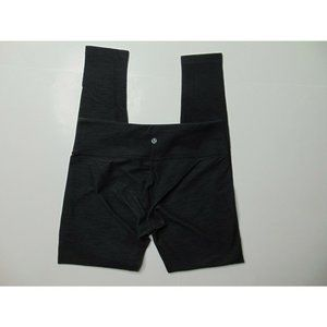 Lululemon Size 8 Dark Gray Yoga Pants Leggings